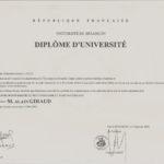 Dipôme Universitaire phyto aroma 001